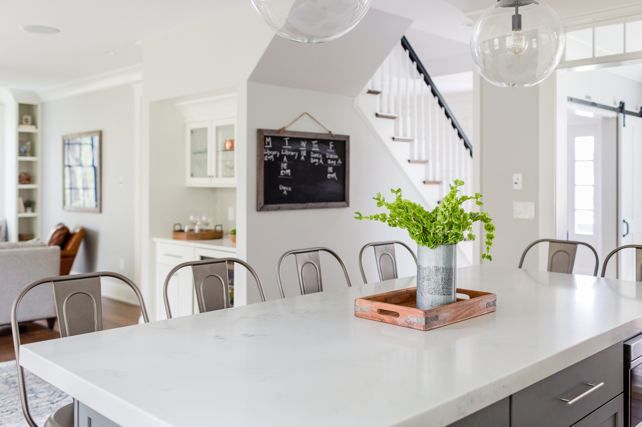 Danielle MacInnes Photography - white kitchen counter with tray-1 ...