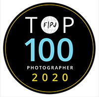 top 100 photographers 2020 badge by FPJA